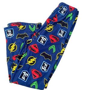 Boys Justice league pj pants batman superman SZ 8